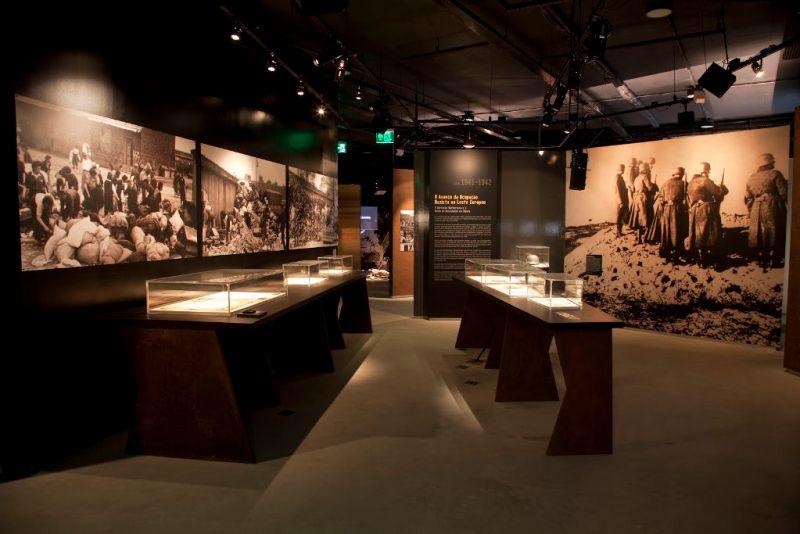 Mostra e Objetos do Museu do Holocausto de Curitiba - Paraná