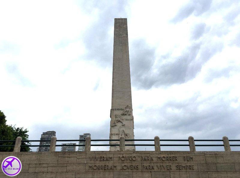 Obelisco de São Paulo - Mausoléu aos Heróis de 32 - São Paulo