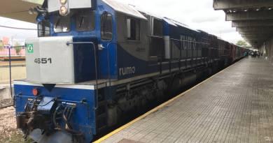 Locomotiva do Trem Para Morretes em Curitiba - Paraná