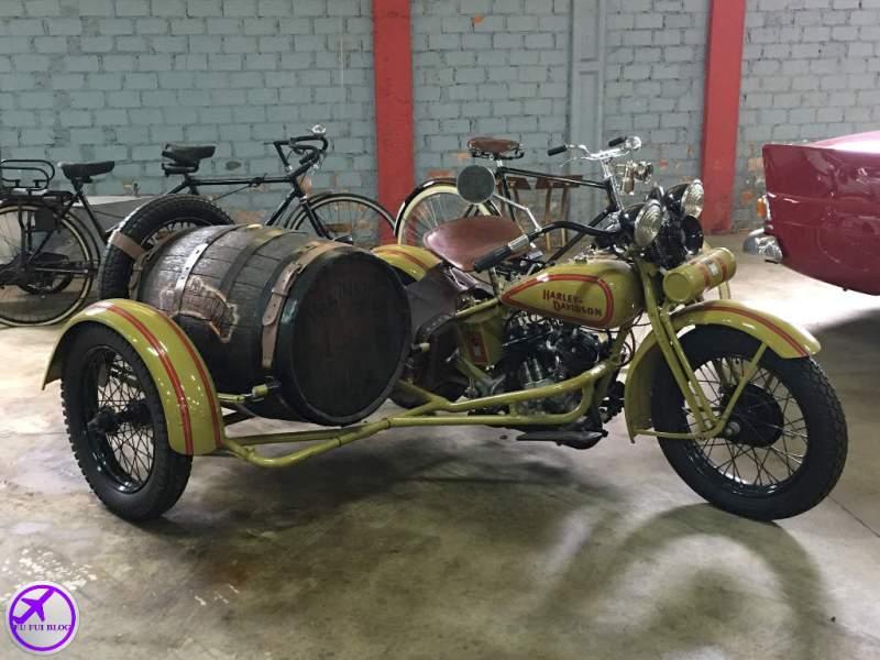 Harley Davidson no Museu do Automóvel de Curitiba - Paraná