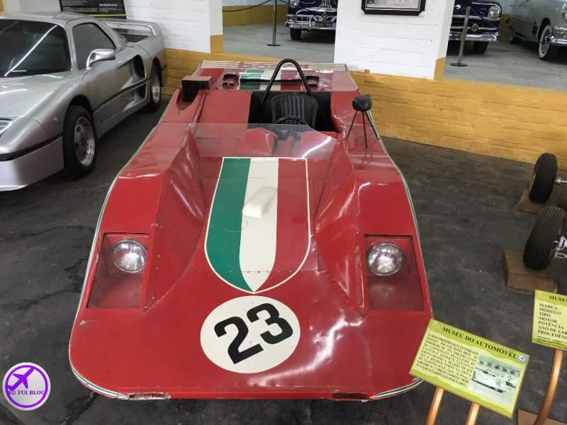 Manta no Museu do Automóvel de Curitiba - Paraná