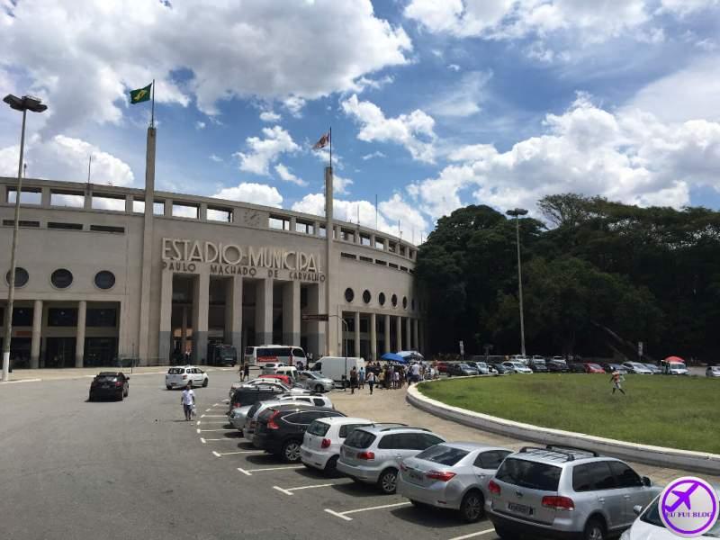 Estádio do Pacaembu - Parada do Circular Turismo de São Paulo