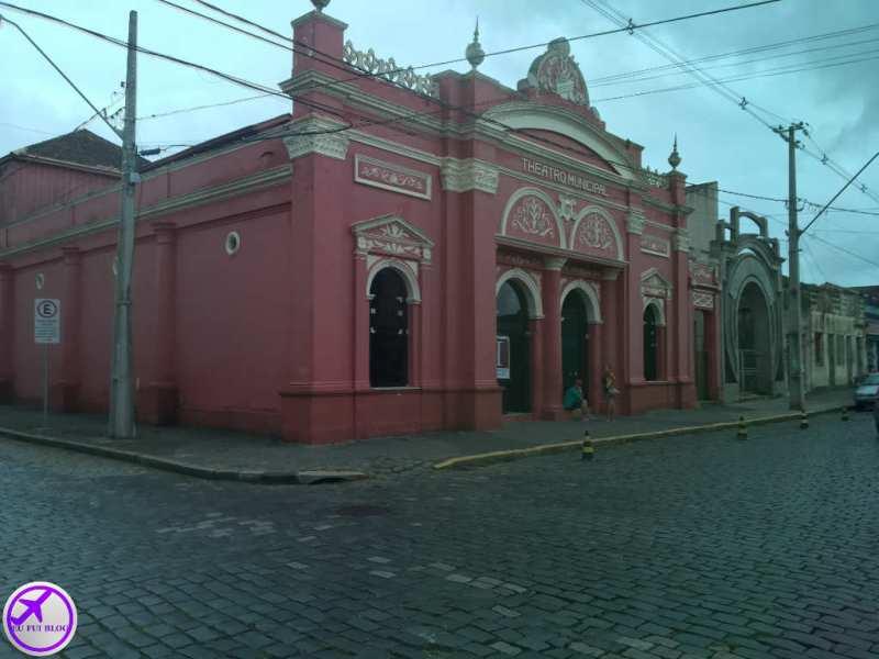 Teatro municipal de Antonina - Trem para Morretes de Curitiba - Paraná