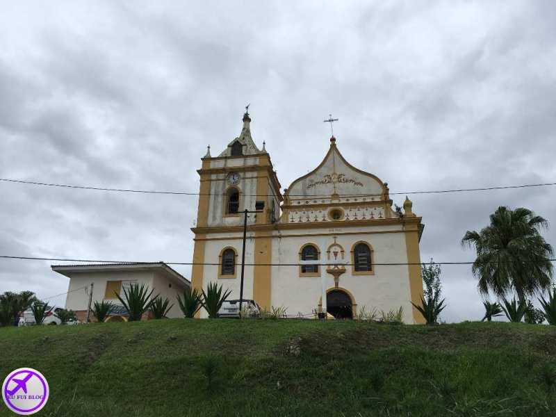 Igreja de Antonina - Trem para Morretes em Curitiba - Paraná