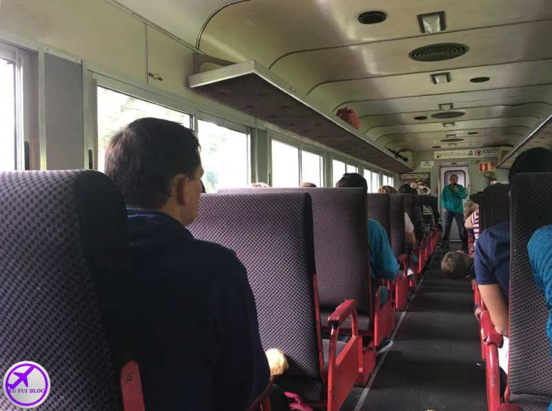 Vagão da Classe Turística do Trem para Morretes e Antonina em Curitiba - Paraná
