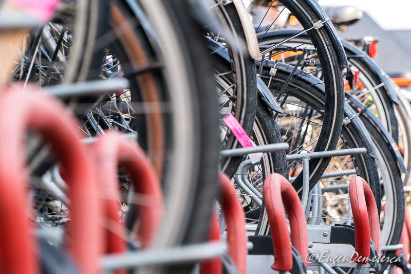 Bike wheels in Copenhagen - Sony A6500, cea mai bună cameră foto mirrorless?