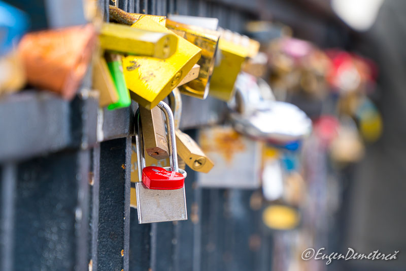 Love locks in Copenhagen - Sony A6500, cea mai bună cameră foto mirrorless?