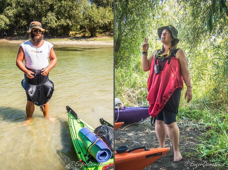 11 Fustite Delta - Cu caiacul, din Deltă până la mare