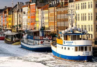 Copenhaga, printre nămeți primăvărateci
