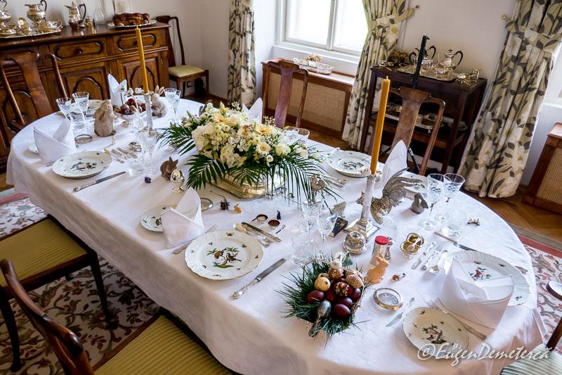 Masa regala de Paste - Paştele Regal la Săvârşin