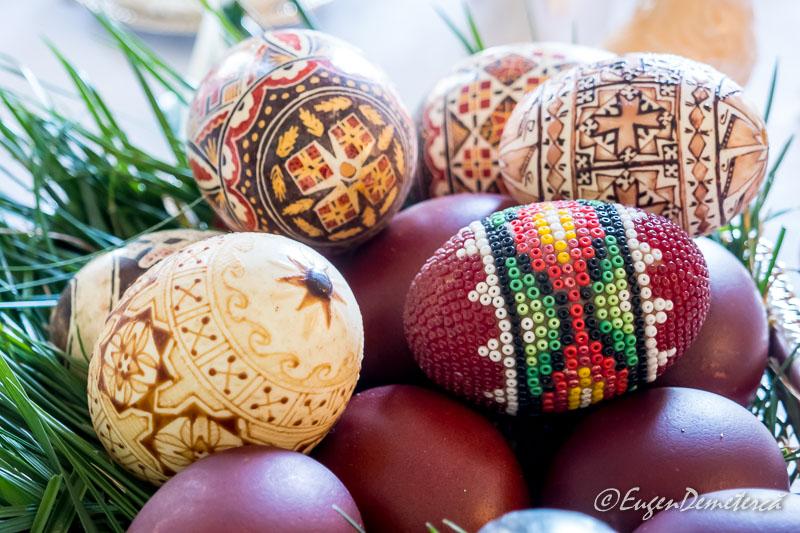 Oua impodobite de Paste - Paştele Regal la Săvârşin