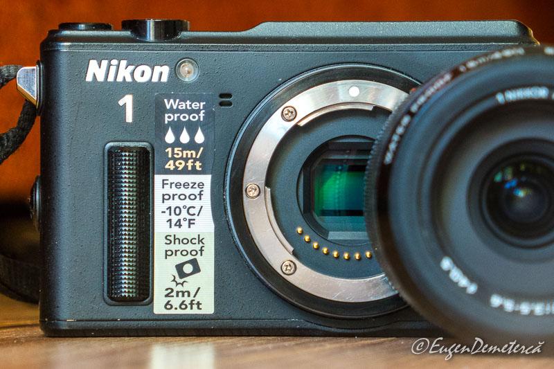 1110015 - Nikon 1 AW1: rezistent la aventură!