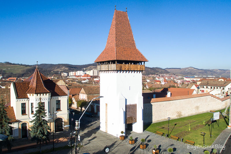 DJI 0447 - Mediaş: perla ascunsă a colinelor Transilvaniei