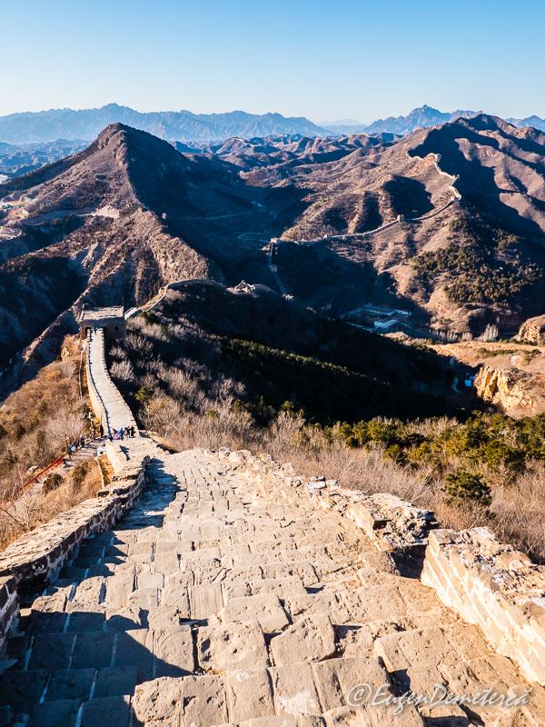 Marele Zid Chinezesc - Simatai sus
