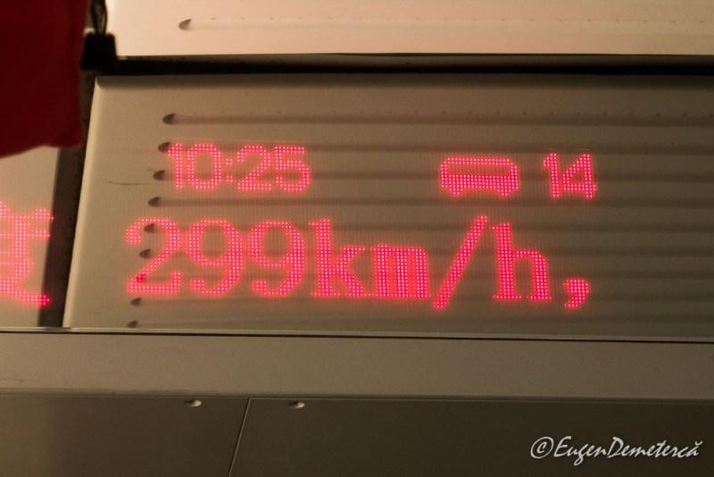 299km/h - Trenuri de mare viteza in China