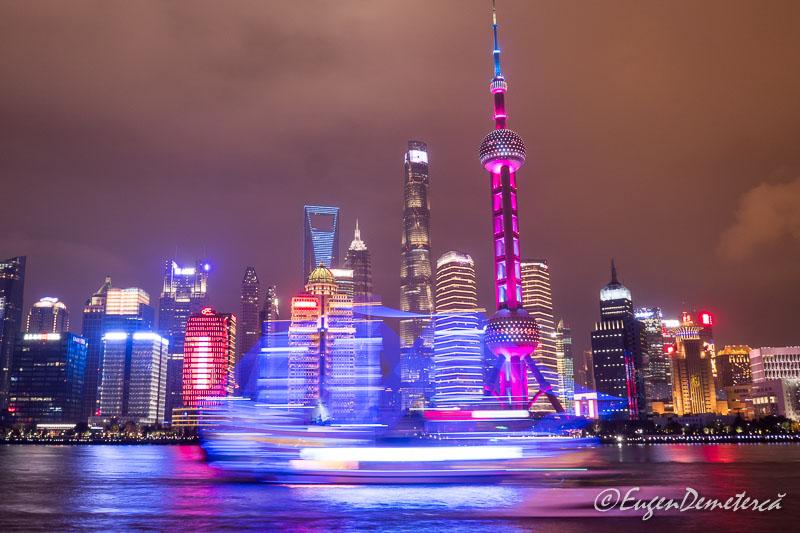 Shanghai noaptea