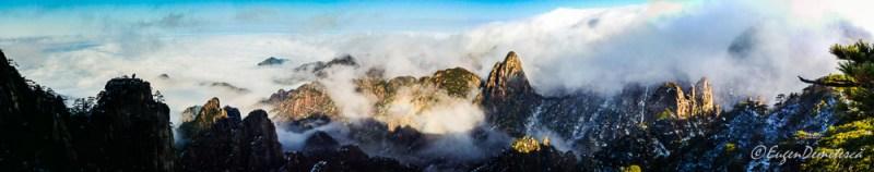 20190103 152055 Pano - Huangshan- munţii cu peisaje din altă lume