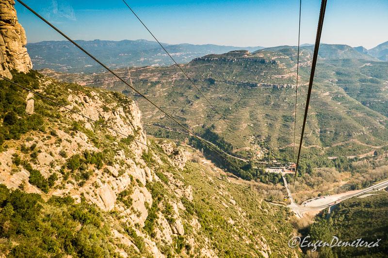 Montserrat - din telecabina (aerio) 2