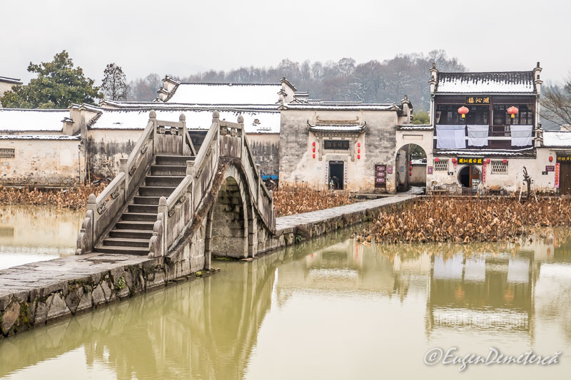 Pod peste Nanhu - Lacul de sud