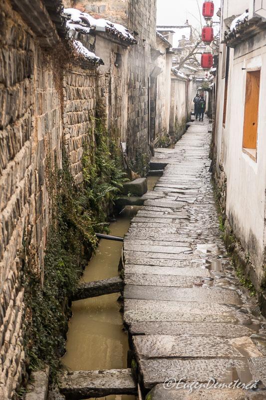 Canal pentru apa in Hongcun