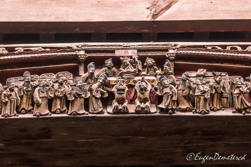 Detaliu sculptura casa Chengzhi 2