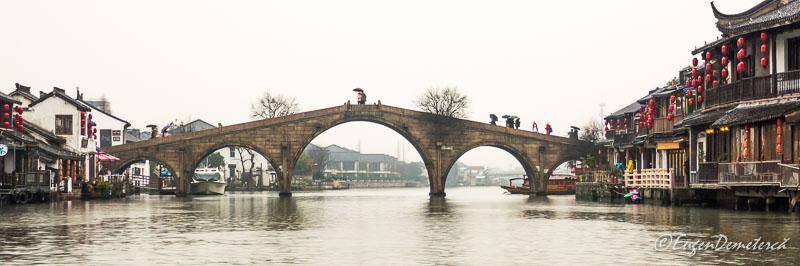 Podul Fansheng in Zhujiajiao