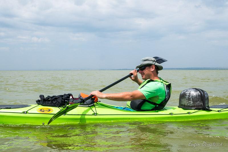 Danube Escapes pe lacul Golovita