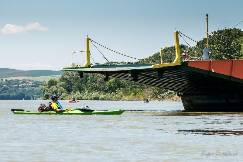 Cu caiacul pe Dunare