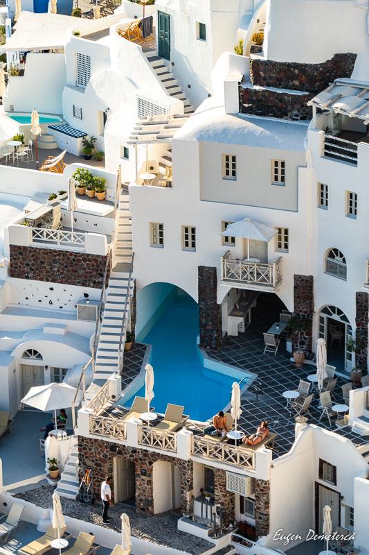Vila cu piscina in Oia - Santorini