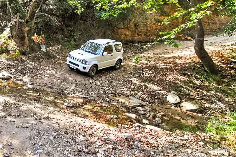 Suzuki Jimny in Skiathos