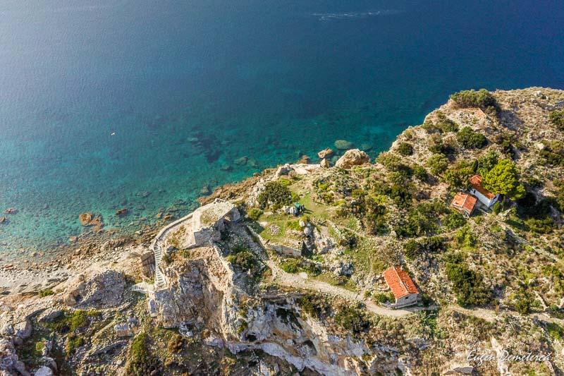 Ruine la Cape Kastro -Skiathos 2