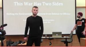 This War Has Two Sides: Moving the Environmentalist Movement from Defense to Offense @ PIELC | Eugene | Oregon | United States