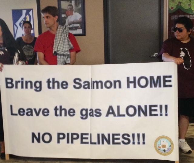 Stop LNG exports - protect salmon - Klamath Falls Klamath nation
