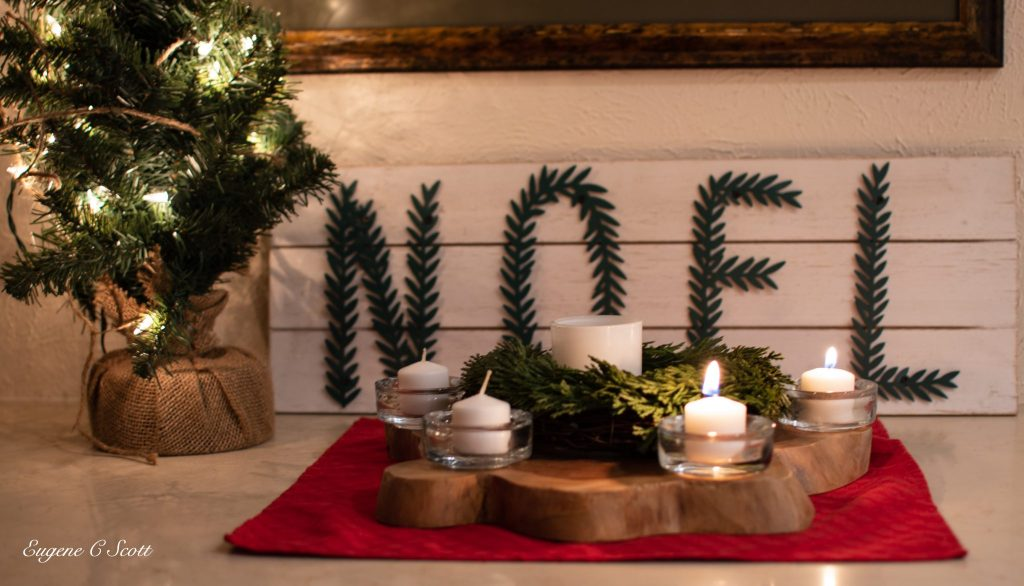 A simple Advent Wreath