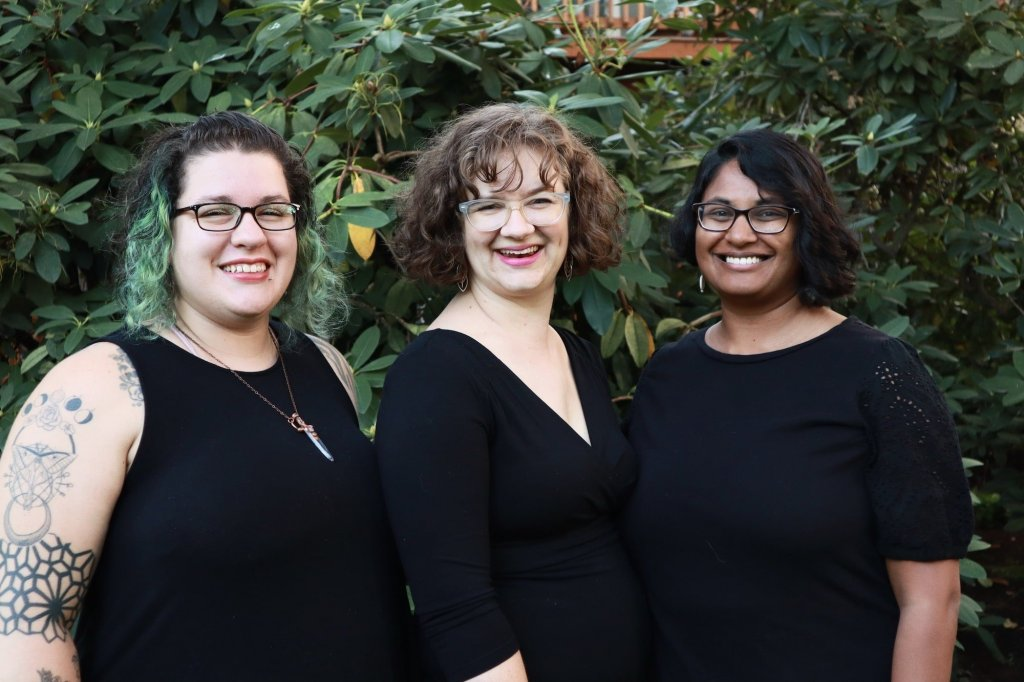 Your Eugene/Springfield Little Notes Baby Music Class Teachers are Kenda, Jodie, and Jenny