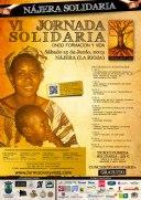 Cartel para la VI Jornada Solidaria 2013.