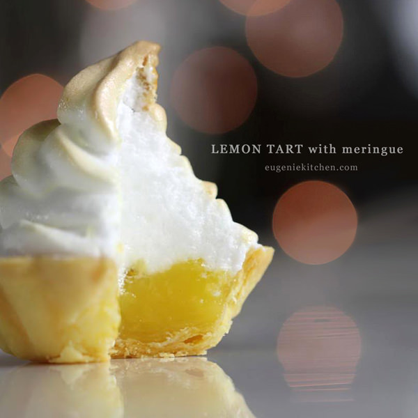 Lemon Tart with Italian Meringue Recipe