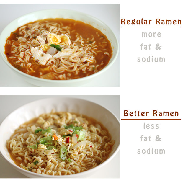 How to Make Korean Ramen Better, Healthier