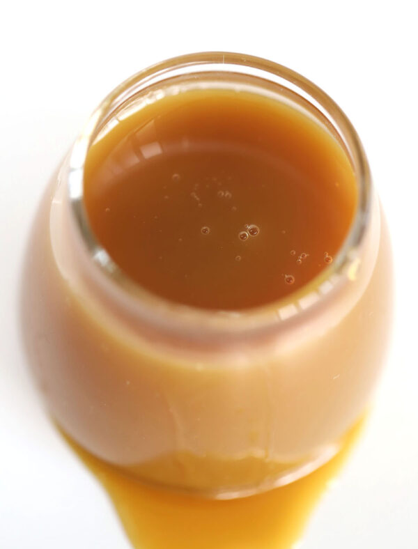 Keto caramel sauce is quick and easy and takes only 5 ingredients!