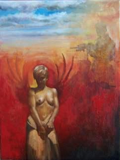 Africa,40x30 cm, oil on canvas