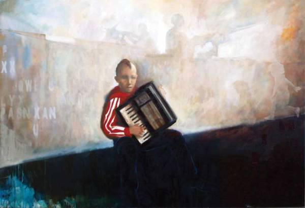 Balkan, 100x150 cm, oil on canvas, 2008
