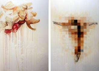 Forgiveness, 150x200 cm, oil on cavas