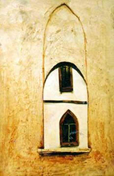 Cold, 70x50 cm, acrylic on wood, 1996.