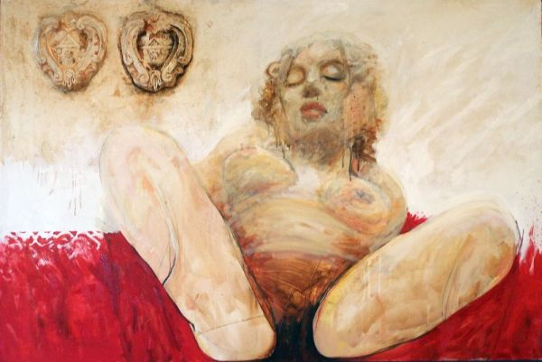 Birth, 100x150 cm, oil on canvas, 2008