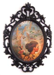 Africa, 70x50 cm, acrylic on wood, 2009.