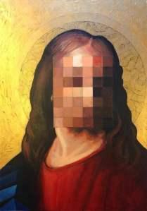My God, 70x50 cm, acrylic on canvas