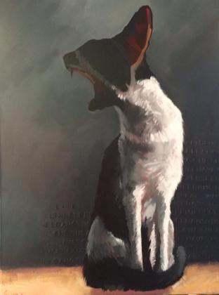Fenya, 70x50 cm, acrylic on canvas