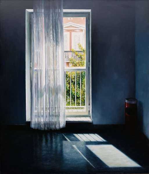 Šibenska,140x120 cm, oil on canvas