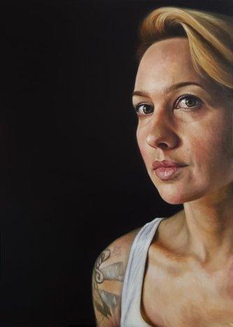 """Philadelphia"" oil on canvas, 140x100 cm, 2018."