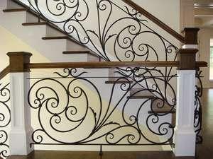Fancy Wrought Iron Railings Lowes   Lowes Outdoor Step Railings   Lowes Com   Balusters   Wrought Iron   Deck Railing   Handrail Kit